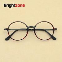 2017 New Korean Fashion Men Nerd Tungsten Vintage Round Eyeglasses Women Retro Geek Plastic Steel Optical