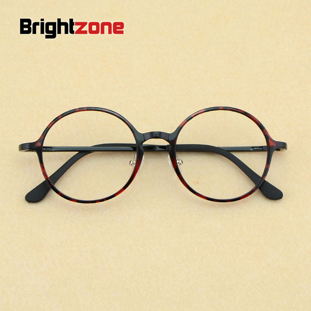 468e521a78e 2017 New Korean Fashion Men Nerd Tungsten Vintage Round Eyeglasses Women  Retro Geek Plastic Steel Optical