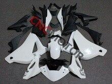 Injeção ABS Carroçaria Carenagem Kit para Honda CBR250RR CBR 250RR CBR250 Cowl 2011 2012 2013 Sem Pintura