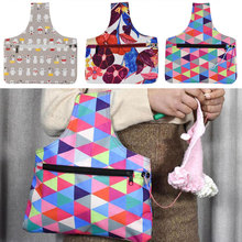 Looen Small Empty Yarn Storage Bag Knitting Handbag For DIY Weave Tools Eco-friendly Women As Gift