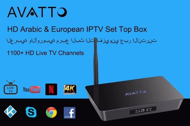 [Avatto] x92 1100 + árabe, REINO UNIDO, italia, alemania, turco, la india, francés, suecia Europeo HD Live TV IPTV Set Top Box