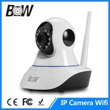 BW 720P HD Megapixel Wireless IP Camera Wifi Pan/Tilt Two Way Audio Recorder Video Surveillance Security Camera CCTV Wi-Fi