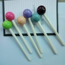 500 шт./лот, персонализированные креативные канцелярские принадлежности, цветные леденцы, нейтральная ручка, креативная Милая гелевая ручка, канцелярские принадлежности для студентов