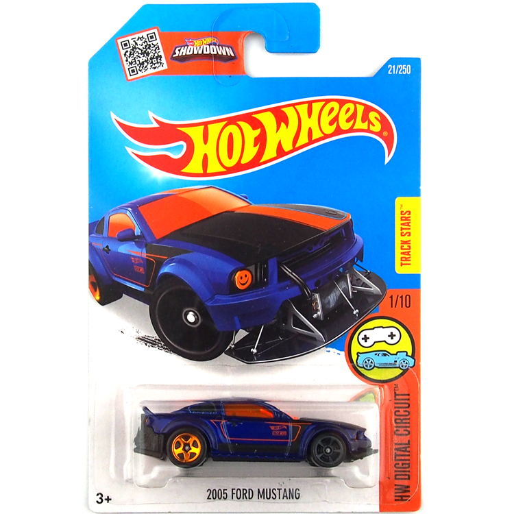 free shipping 2016 new hot wheels 2005 ford mustang cars models metal diecast car collection kids