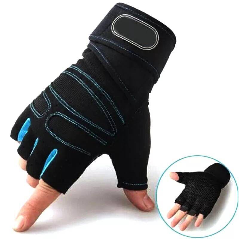 M-XL כושר כפפות במשקל כבד ספורט תרגיל משקל הרמת כפפות מבנה גוף אימון ספורט כושר כפפות