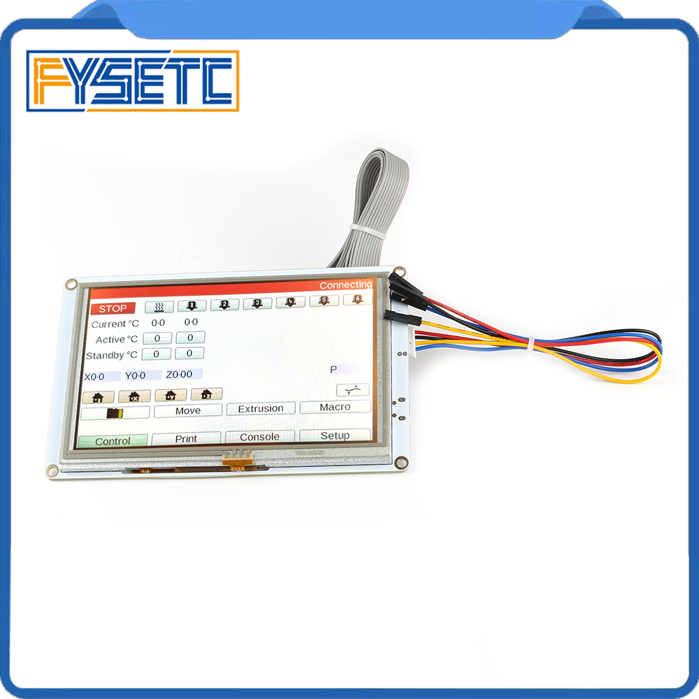 Clone 5 5 inch PanelDue 5i Integrated Paneldue Colour Touch Screen Controllers For DuetWifi Duet 2