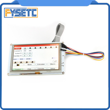 Klon 5 5 zoll PanelDue 5i Integrierte Paneldue Farbe Touch Screen Controller Für DuetWifi Duet 2 Ethernet 3D Drucker Teile