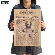 Фильм волшебный Сириус Orion Винтаж плакат в стиле ретро из крафт-бумаги пророке декоративные наклейки на стену Ретро Картины УТД 42,5x30,5 см