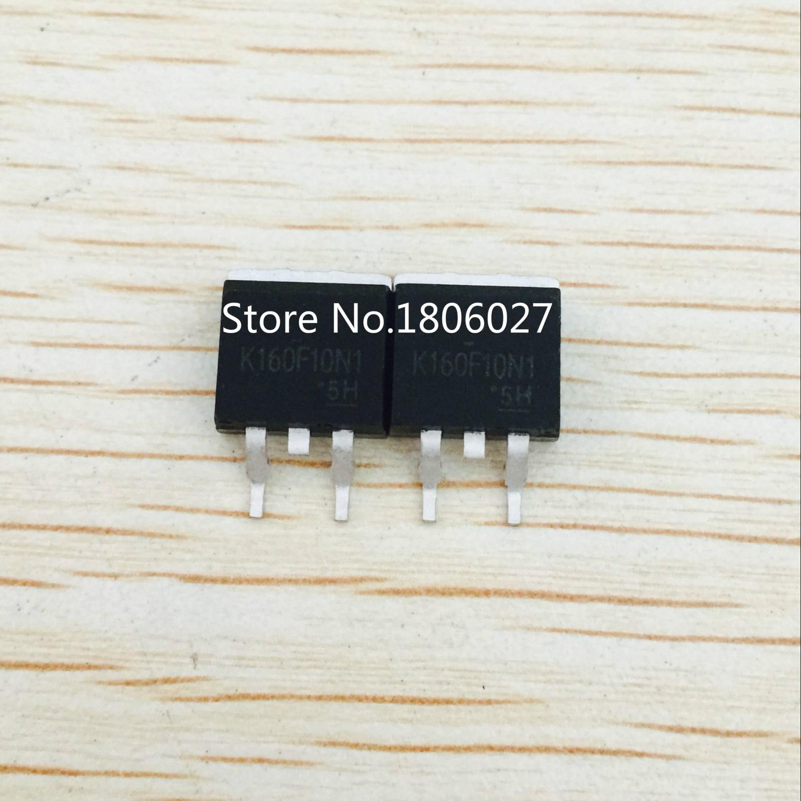 Enviar livre 20 PCS TK160F10N1 K160F10N1 100V160A TO-263 Novo original  local vendendo circuitos integrados 8bd352c2ffc