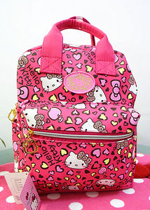 Image 2 - جديد لطيف مرحبا كيتي حقيبة مدرسية للظهر حقيبة محفظة yey 3303