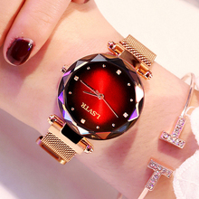 2019 Fashion Watch Women Luxury Rose Gold Ladies Wrist Watches Magnet Waterproof Clock relogio feminino zegarek damski Gift Wife