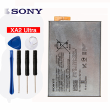 Original High Capacity LIS1653ERPC Phone Battery for Sony Xperia XA2 Ultra G3421 G3412 3430mAh XA1 Plus Dual H4213 3430mAh original sony xa2 ultra battery for sony xperia xa2 ultra g3421 g3412 3430mah xa1 plus dual h4213