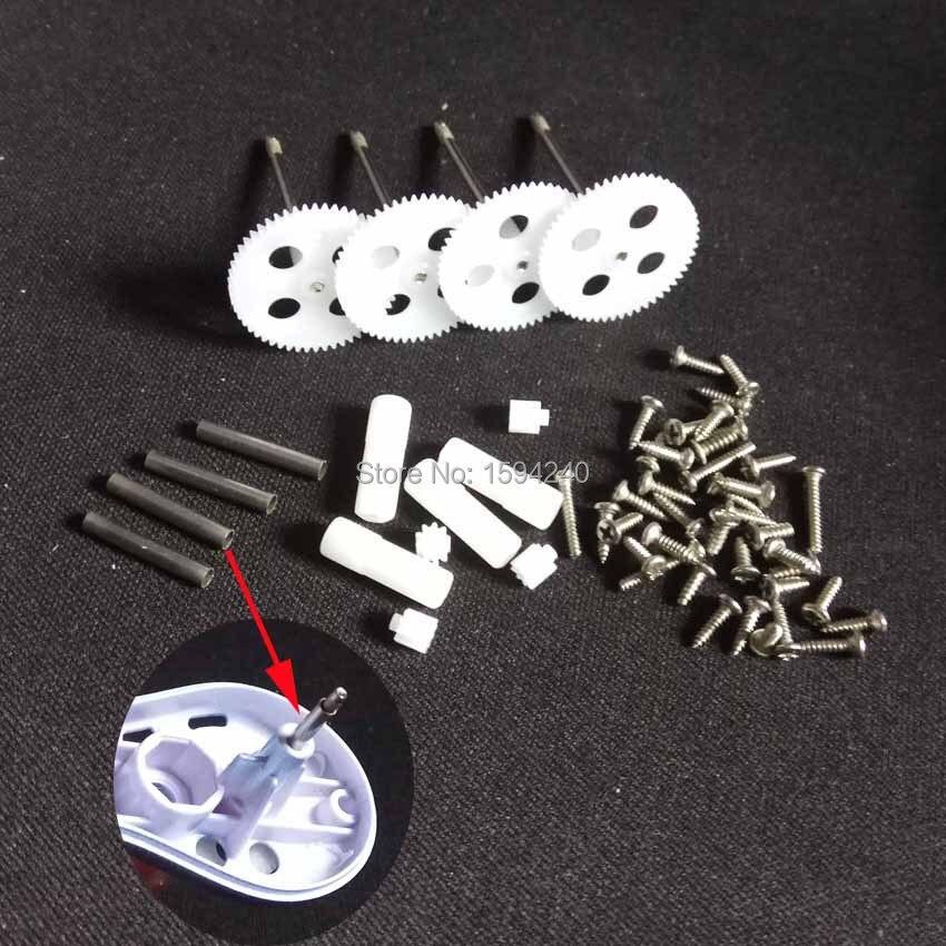 Para syma X5S X5SC X5SW X5HC X5HW rc drone tornillo eje piezas de repuesto para elegir