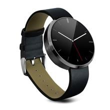 DM360 Smart Uhr Round Bluetooth Wasserdichte Smartwatch Schlaf-tracker Pedometer Player Uhr Für iPhone Android VS G3 U8 Uhr