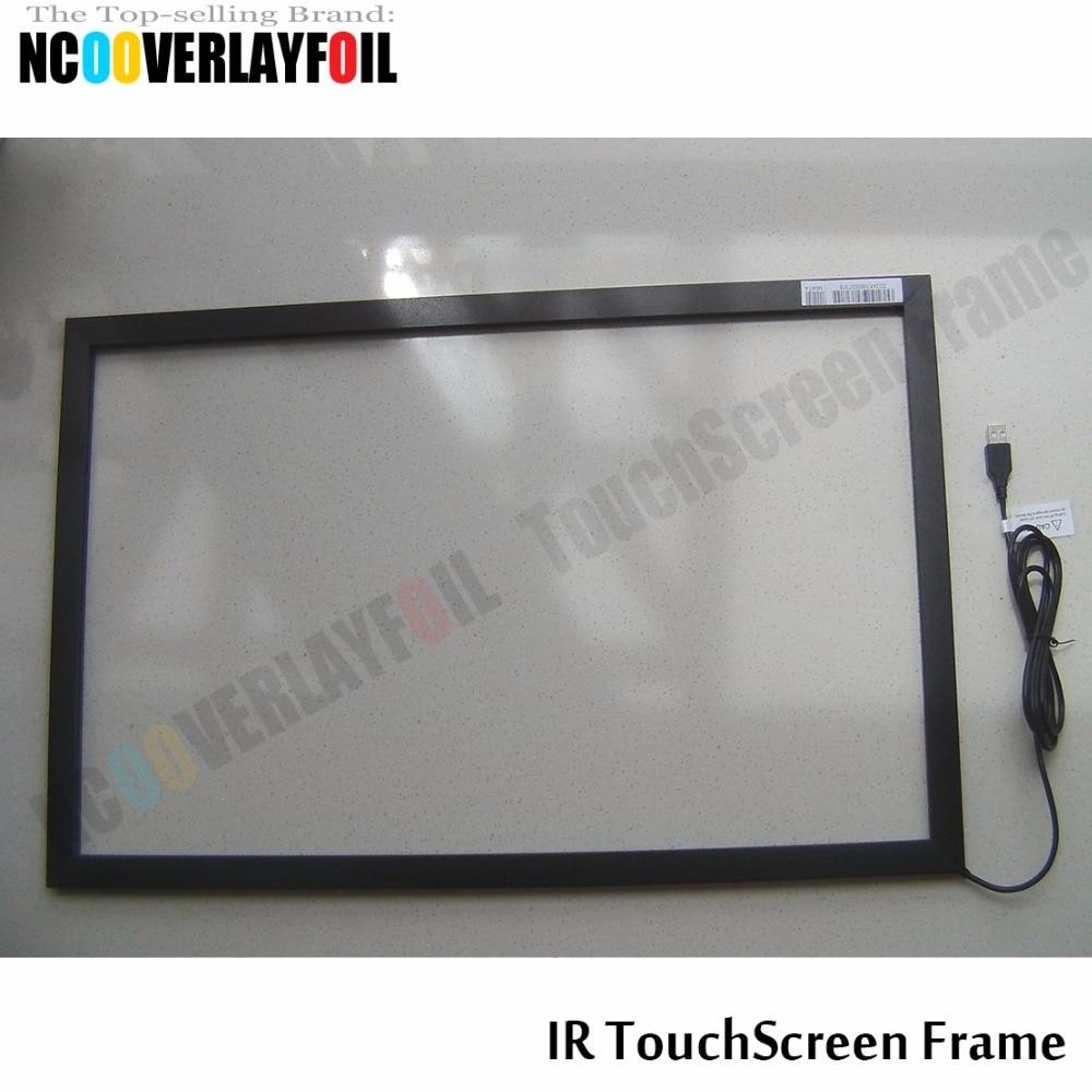 10 punkte 40 Zoll IR touchscreen rahmen ohne glas für Interaktive ...
