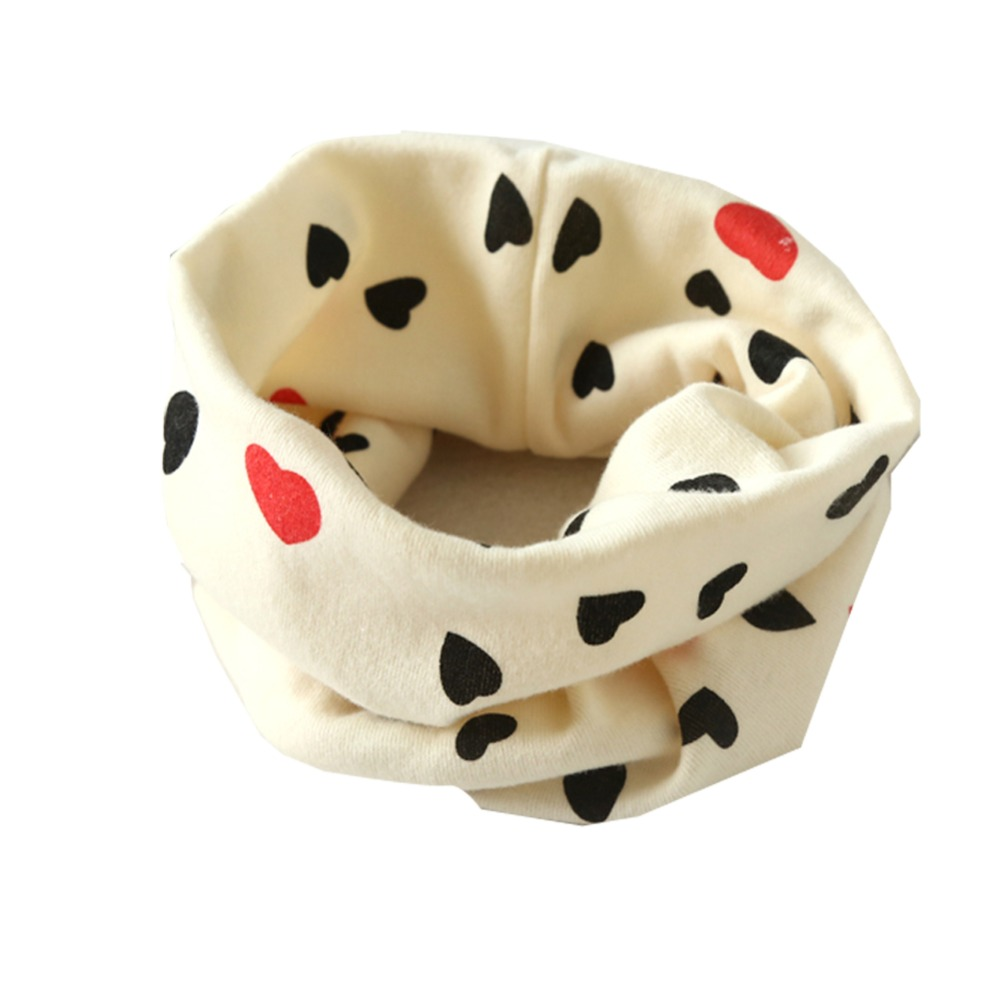 Warm Autumn Winter Boys Girls Collar Baby Scarf Cotton O Ring Neck Scarves,cartoon child neck Scarves
