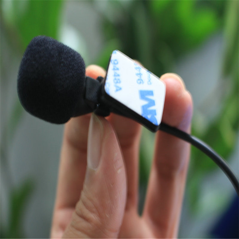 Linhuipad 3,5 mm mono avto zunanji mikrofon mini žični mikrofon DVD - Prenosni avdio in video - Fotografija 4