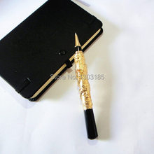 Dragon ball pen luxury gold color 80g/piece  Company event gifts and awards for your employees customers with gift box