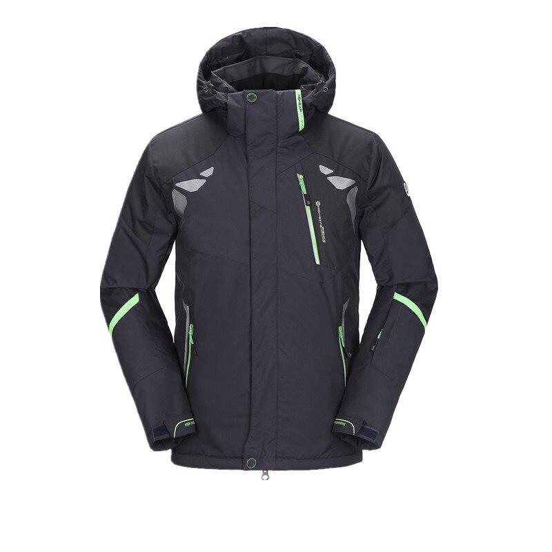 Prix pour Mens Vestes de Ski 2016 Ski Veste Hommes Snowboard Hiver Montagne Ski Vêtements D'hiver Manteau de Neige Étanche Camping En Plein Air Marque