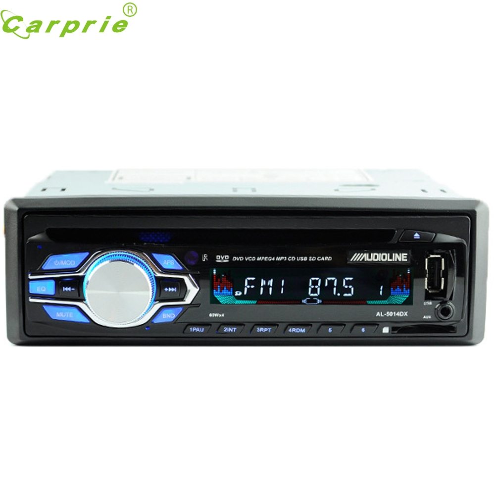 ФОТО Tiptop New Hot Single Din Car DVD CD Player Vehicle MP3 Stereo Radio Remote control march9