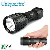 New Uniquefire 1408 UV 395 400nm Black 3xLED Diving Flashlight Authentic And Portable For Camping Free