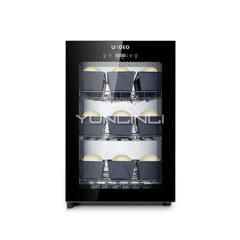 Máquina de Fermentação 80L Comercial/Uso Doméstico Armário de Fermentação de Pão/Iogurte Fermentação Equipamentos F100