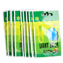 50Pcs Multi-Color Fishing Float Fluorescent Lightstick Light Night Float Rod Lights Dark Glow Stick for Fishing 25/37MM
