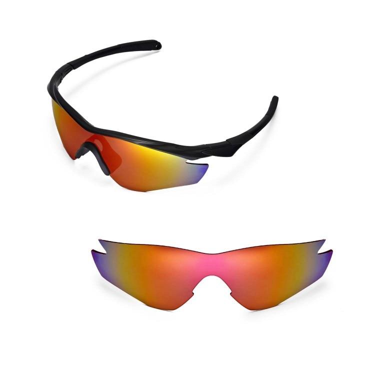 Walleva Polarized Replacement Lenses for Oakley M2 Frame Sunglasses ...