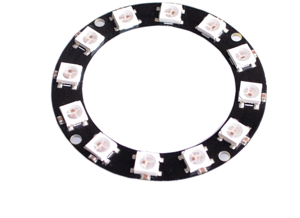 Responsible 20pcs D37 12bit Ws2812 5050 Rgb Led Intelligent Full-color Rgb Ring Development Plate Ring For Arduino Integrated Driver Module Computer & Office