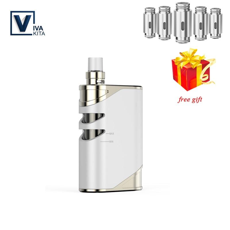 Vape kit 50W Vaporizer 1500mah VivaKita Fusion kit Electronic Cigarette vape mod 0.25ohm built in evaporator dropshipping FM-трансмиттер
