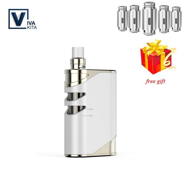 Vape kit 50W Vaporizer 1500mah VivaKita Fusion kit Electronic Cigarette vape mod 0.25ohm built in evaporator dropshipping