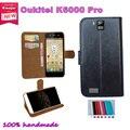 Super hot! 2016 Oukitel K6000 Pro 5.5 polegada caso o preço de fábrica 7 cores de couro exclusivo antiderrapante tampa do telefone + rastreamento