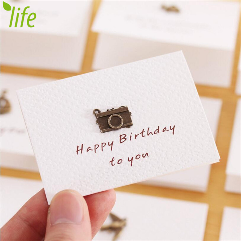 Memory mini style birthday card with envelope festival souvenirs memory mini style birthday card with envelope festival souvenirs postcard greeting gift card 24 pcslot free shipping in cards invitations from home bookmarktalkfo Images