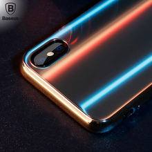 Baseus 4D glass case For iphone X cover back protector Utral thin9H Tempered iphoneX