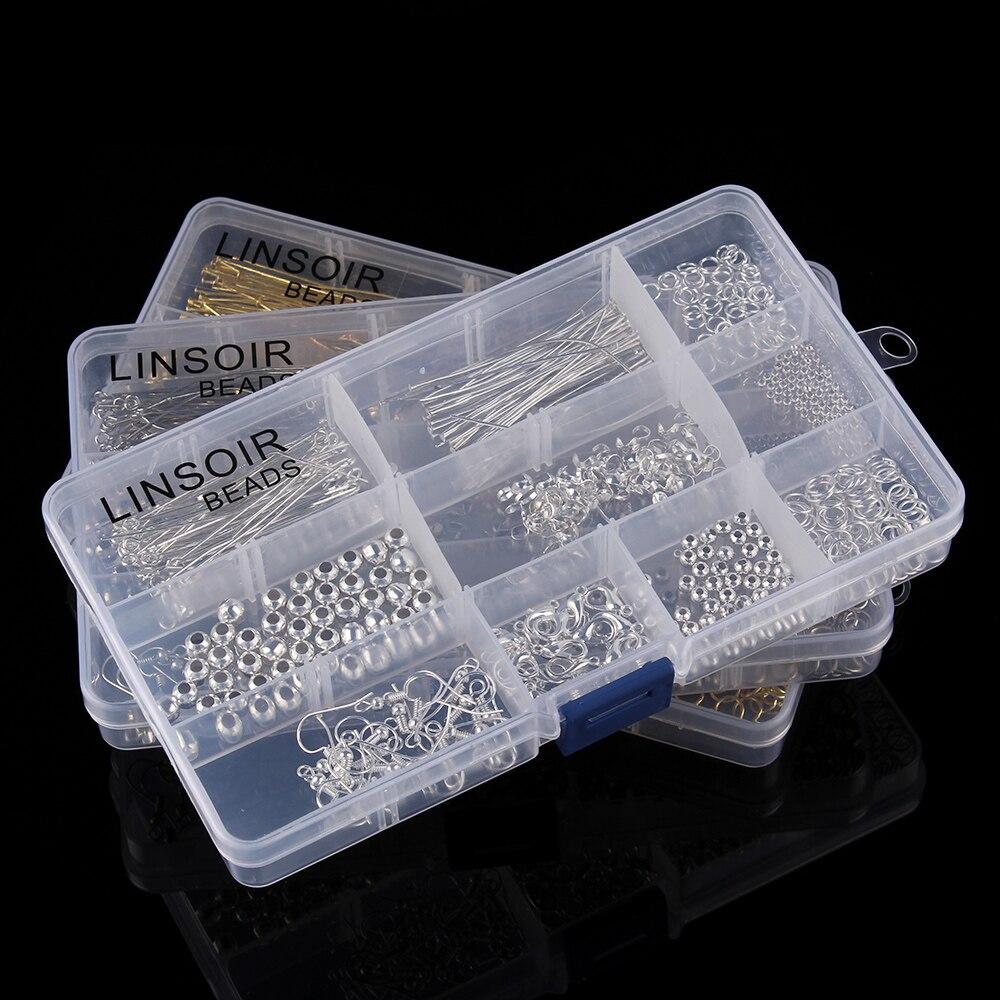 Купить комплект аксессуаров для изготовления ювелирных изделий 1 коробка
