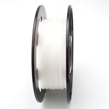 PLA Environmentally friendly 1.75mm 3D Printer Filament white colour Plastic materials longth 330m for 3D Printer