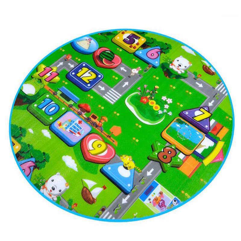 Детский тент, мягкий пол, детский игровой ковер с рисунком, водонепроницаемый мяч, бассейн, игра, одеяло, обучающий детский тренажерный зал, детский коврик