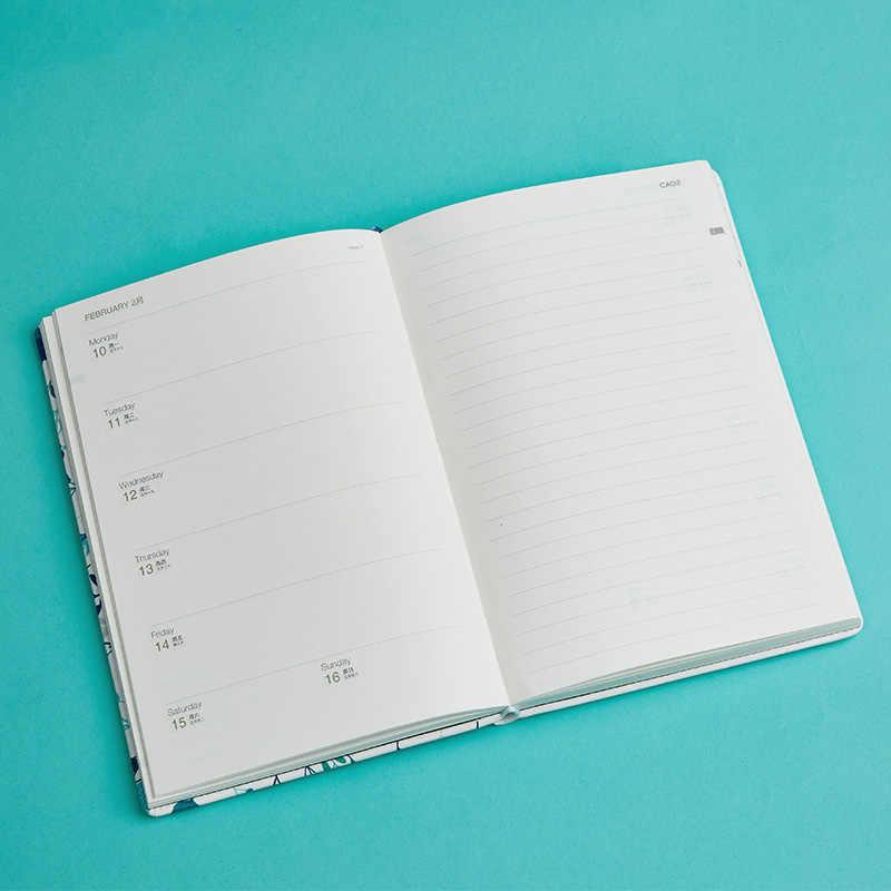 Kawaii 2019-2020 Agenda planificador organizador diario A5 cuaderno y diario semana Personal viaje cuaderno Oficina calendario manual