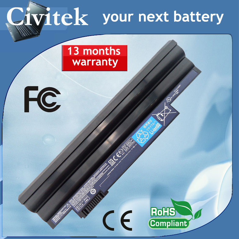 Laptop <font><b>battery</b></font> for <font><b>Acer</b></font> <font><b>Aspire</b></font> <font><b>One</b></font> 522 <font><b>722</b></font> D255 D260 D270 E100 AOD255 AOD260 AL10A31 AL10B31 AL10G31 image