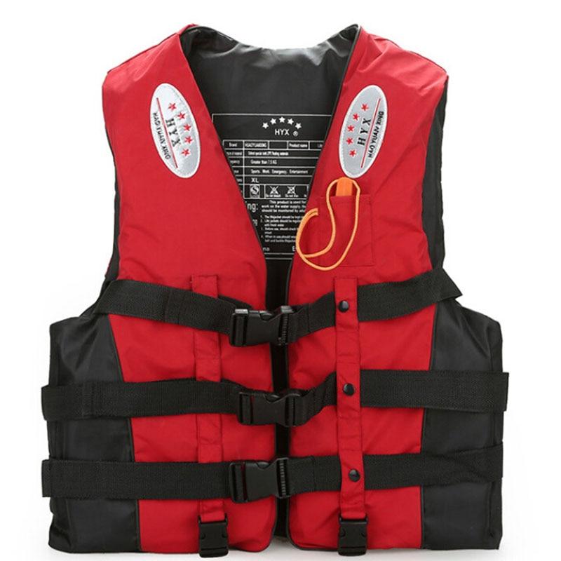 aquáticos colete salva-vidas com apito colete de
