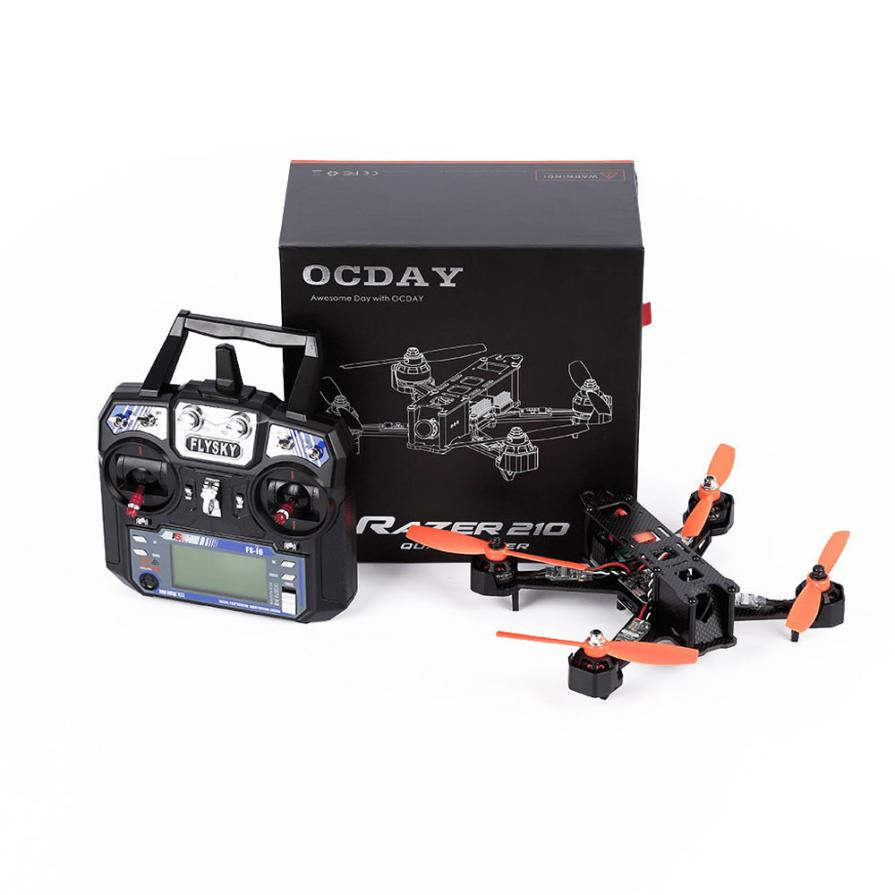 2016 New OCDAY RAZER 210 Size Full Carbon Fiber FPV Racing Drone Quadcopter RTF Aug19