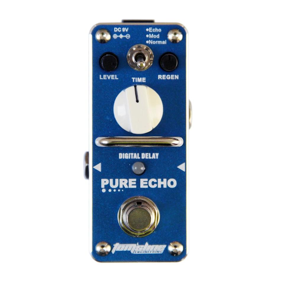 AROMA APE 3 PURE ECHO Digital Echo Delay Pedal Delay Guitar Effects Pedal Echo Mod Normal