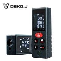 DEKOPRO LRD110 Handheld Laser Distance Meter 40M 60M 80M 100M Mini Laser Rangefinder Laser Tape Range Finder Diastimeter Measure