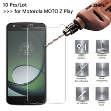 10 Pcs/Lot 2.5D 9H Premium Tempered Glass For Motorola MOTO Z Play XT1635 5.5 Screen protective film For MOTO Z Play Glass цена