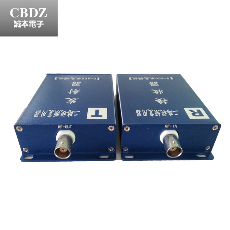 1 pair 2-Channel Video Multiplexer with Common-Cable-Transmission for CCTV Security Camera by Coaxial Cable free shipping