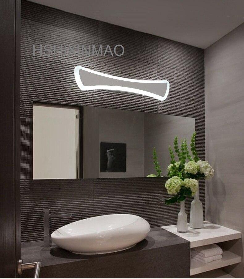 US $43.06 28% OFF|Moderne LED Spiegel Lichter 40cm ~ 120cm wand lampe  Badezimmer schlafzimmer kopfteil wand leuchte lampe deco Anti nebel und ...