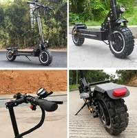 2018 newest big powerful 2400w two wheel electric scooter china for adults