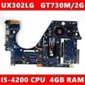 Материнская плата UX302LG MB_4G/U3/AS GT730M/2G для UX302L UX302LA UX302LNB UX302 ZenBook REV 2 0  100% тестирование