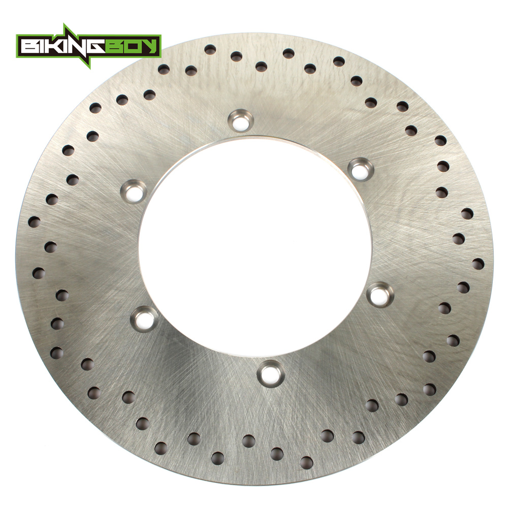 BIKINGBOY Round 296mm Rear Brake Disc Disk Rotor For HONDA VTX 1300 C 2004 2005 2006