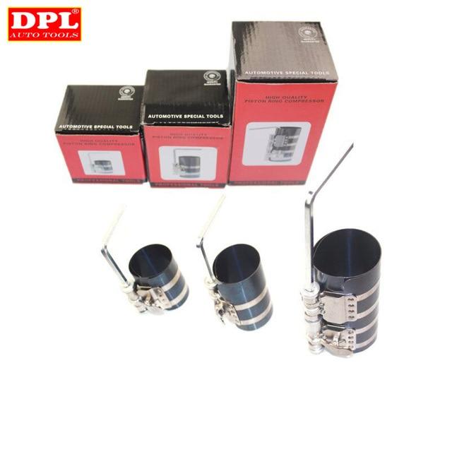 자동차 엔진 피스톤 링 압축기 도구 렌치 조정 가능한 설치 밴드 도구